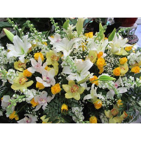 immagini di fiori cuscino di fiori per funebre