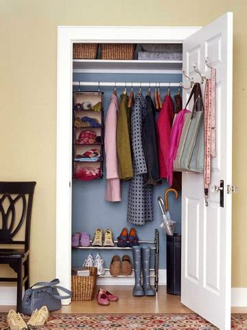 Organize Entryway Closet by Bhg Style Spotters