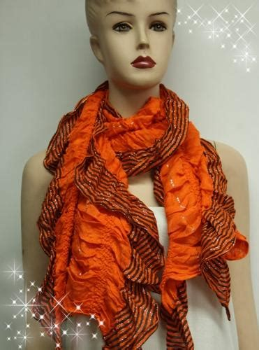 Pasmina Two Curly scarves curly fashion scarf