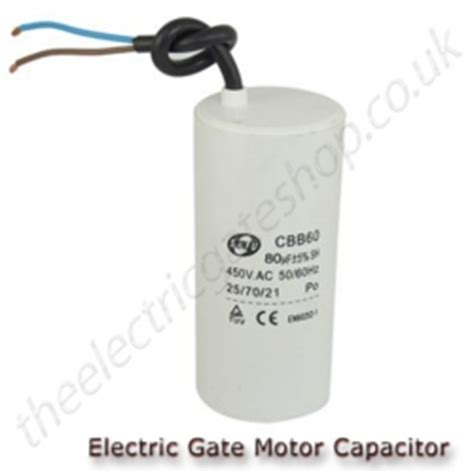 function of a starting capacitor gate motor run capacitor