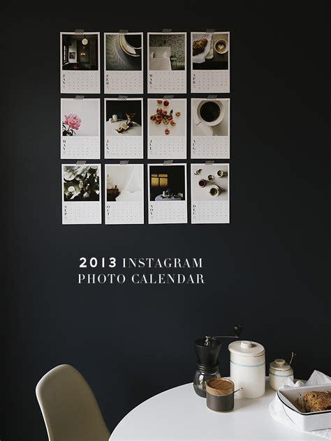 Instagram Calendar Lingered Upon 2013 Instagram Photo Calendar