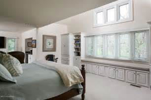 bedroom window seat traditional master bedroom with carpet window seat in