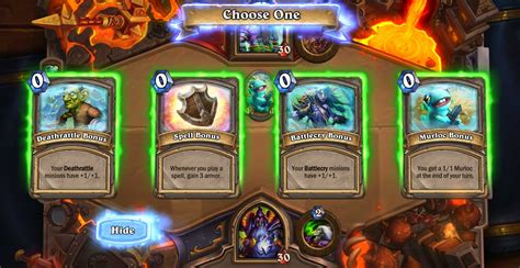 best decks hearthstone tavern brawl battle of the builds hearthstone top decks
