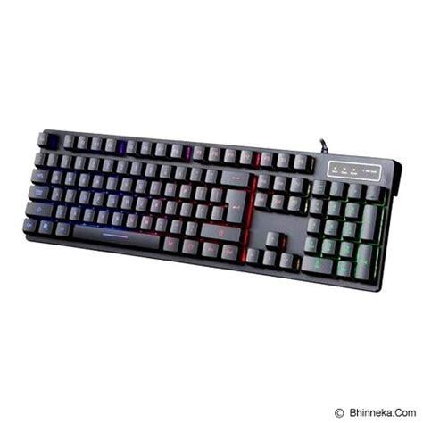 Keyboard Mechanical Murah jual warwolf v10 semi mechanical gaming keyboard murah bhinneka