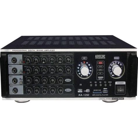 Mixer Console Murah jual karaoke lifier audiocore ka 1250 harga murah primanada