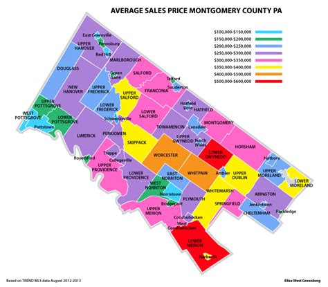 Montgomery County Pa Search Map Of Montgomery County Pa My
