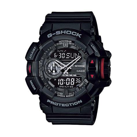 Jam Tangan Pria Merk Casio Gshock Ga 400 Ga400 Autolight Active 1 jual casio g shock ga 400 1bdr jam tangan pria harga kualitas terjamin blibli