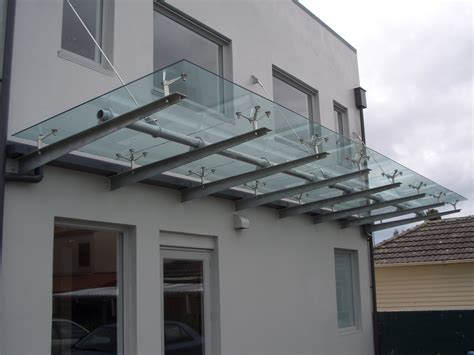 glass awning system austvision spider canopy