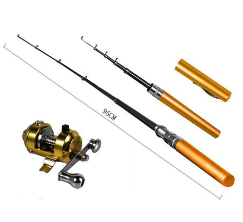 Mini Portable Pen Fishing Rod Length Pancing Pena calculating import charges import charges shown at checkout
