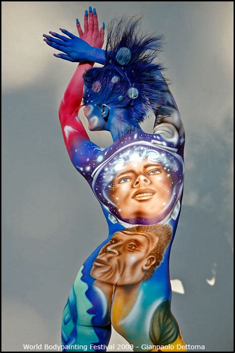 incredible  magnificent body painting art