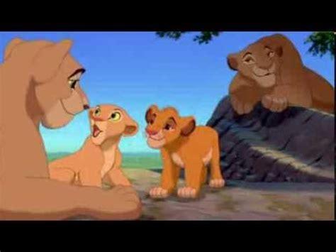 lion film youtube le roi lion nala et simba youtube