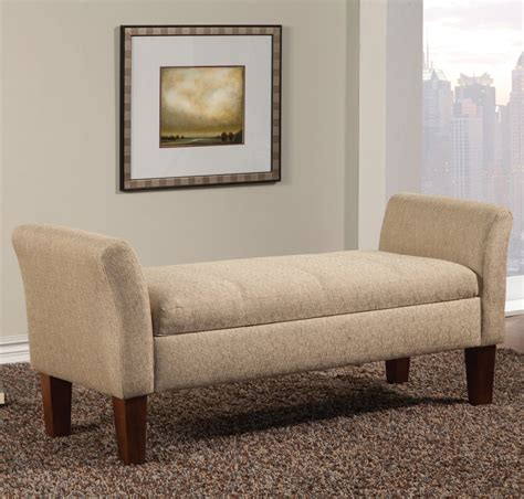 beige bench beige fabric storage bench steal a sofa furniture outlet