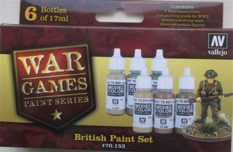 Vallejo Russian Wwii Model Color 70924 val70153 wwii wargames paint set x6