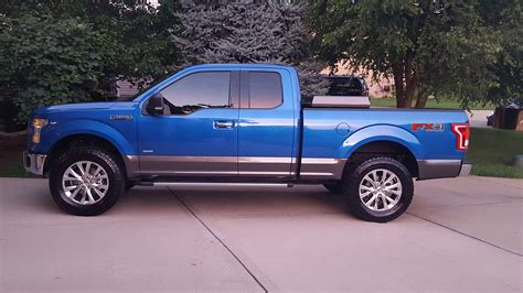 truck ford blue let s see those 15 blue trucks ford f150 forum