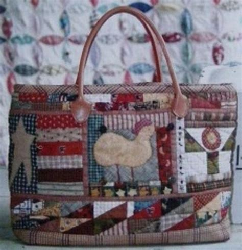 Patchwork Purse Pattern - patterns quot applique country tote bag quot patchwork bag op