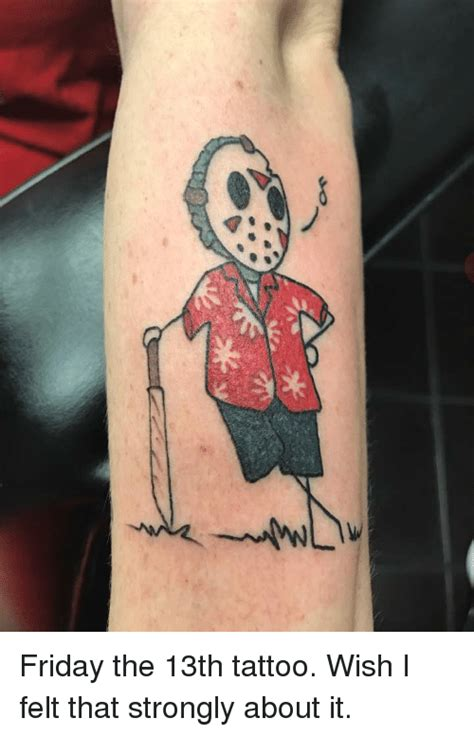 friday the 13th tattoos nyc friday the 13th tattoos nyc september 2016 all about