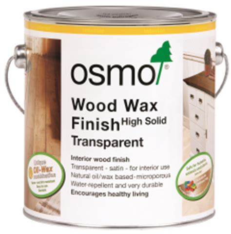 osmo wood wax finish transparent 0 75l only 163 22 46 inc