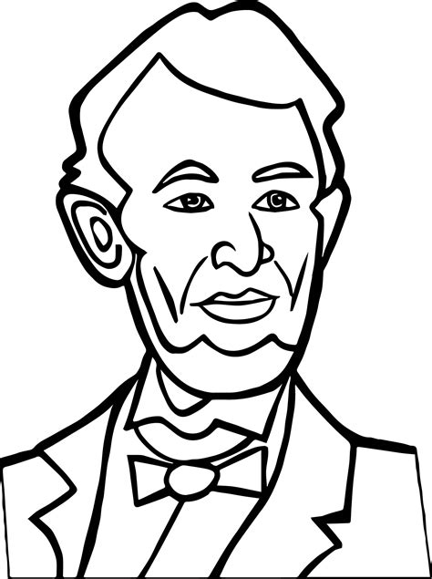 abraham lincoln coloring pages for kindergarten abraham lincoln coloring pages many interesting cliparts