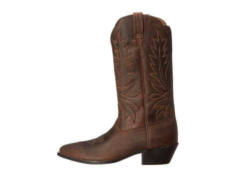 toe boots womens ariat heritage western r toe womens boots
