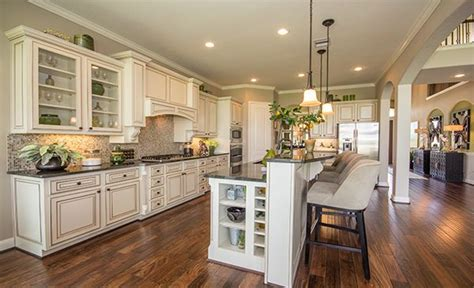 new home decorations gourmet kitchen by village builders 174 a lennar luxury
