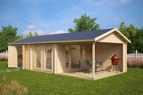 house shed large garden room with shed robin 22m 178 50mm 9 x 4 m