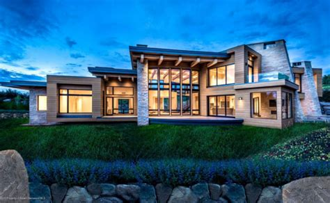 million newly built contemporary style mansion