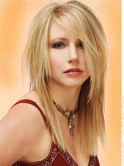 Best Hairstyles To Slim The by 15 Collection Of Hairstyles To Slim