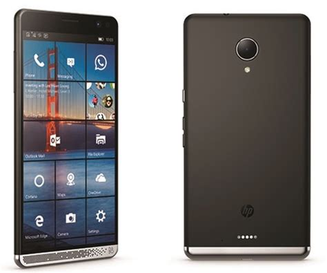 hp mobile the hp elite x3 is real the new windows 10 mobile