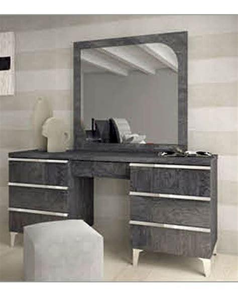 modern italian vanity dresser and mirror 33191ei