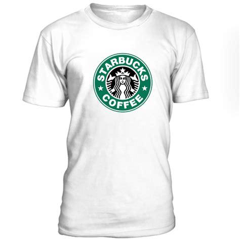 T Shirt Starbuck starbucks logo tshirt