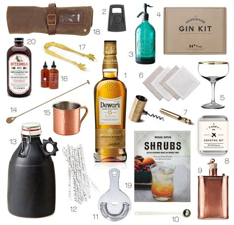 gift guide 2014 the bartender by honestlyyum