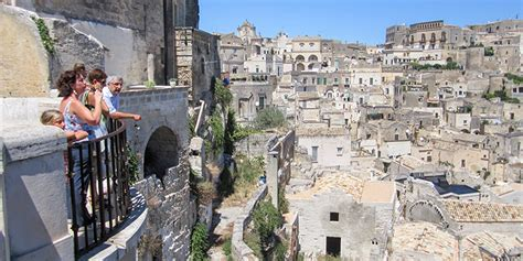 italys cave city  matera throwback  ancient times