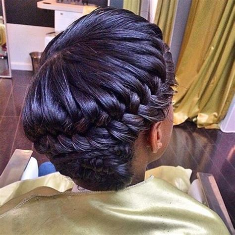 stylist feature love this goddess braid done by stylist feature love this braided style done by