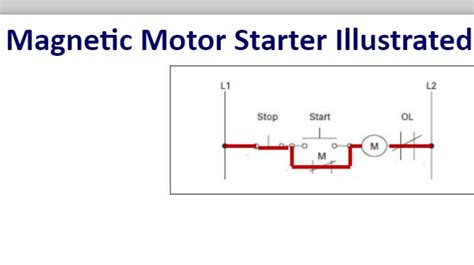 wiring diagram for a magnetic motor starter 43 wiring