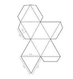 3d Paper Shape Templates by Octahedron Design Octahedron Templates To Print 3d