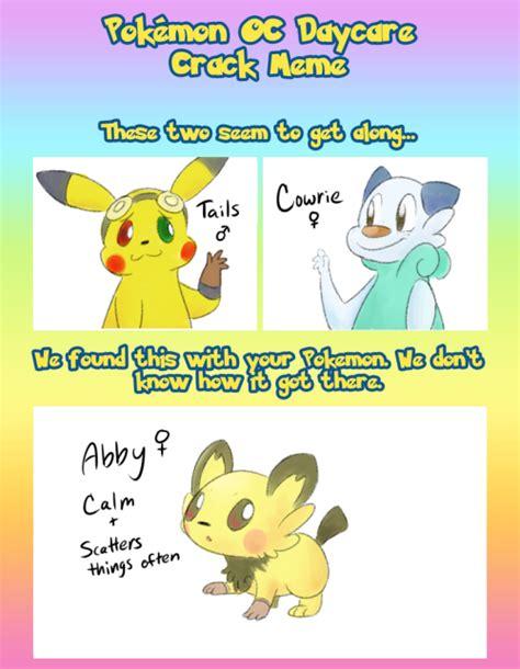 Pokemon Daycare Memes - pokemon oc daycare meme tumblr