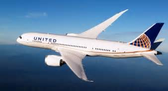 Flight To International Flights For United Airlines Boeing 787