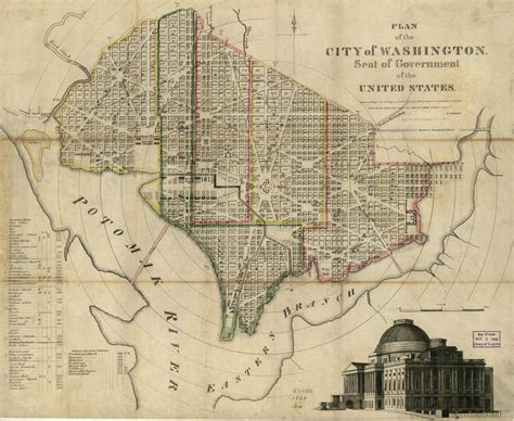 map of washington dc district of columbia maps district of columbia digital