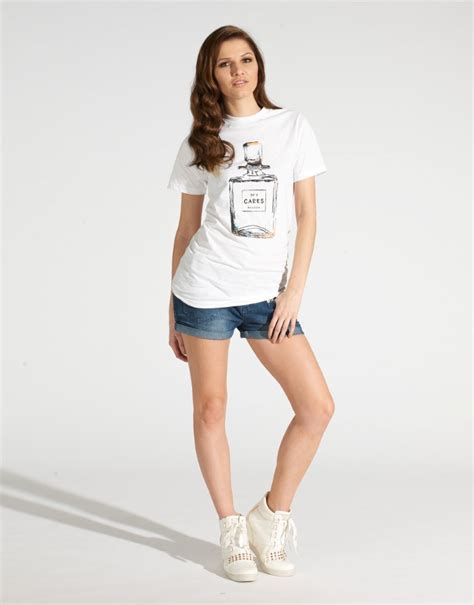 perfume bottles printed tshirt designer blouse 2014 womens