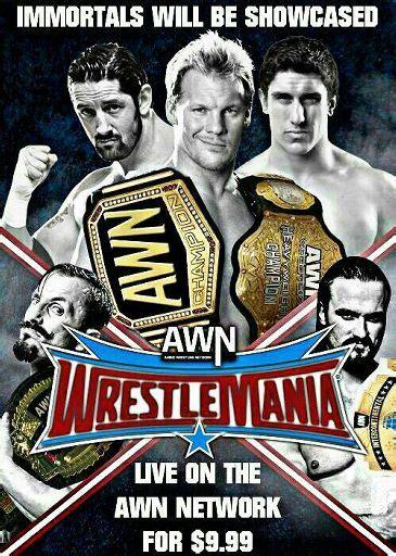 awn wrestling awn wrestlemania kickoff show full panel wrestling amino