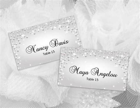 diy wedding name card template diy printable wedding place name card template 2430974