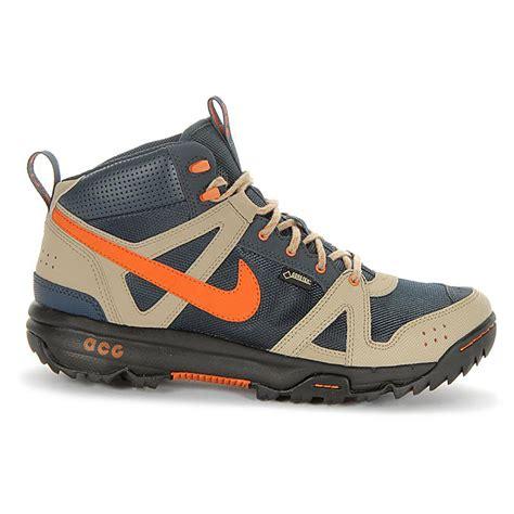 nike biking shoes nike rongbuk mid gtx mens trekking shoes tex hiking