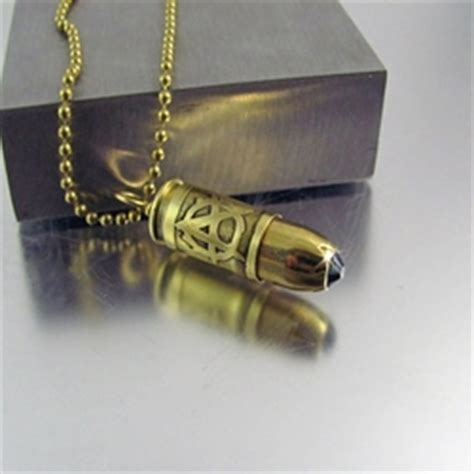 sons of anarchy bullet necklace 9mm