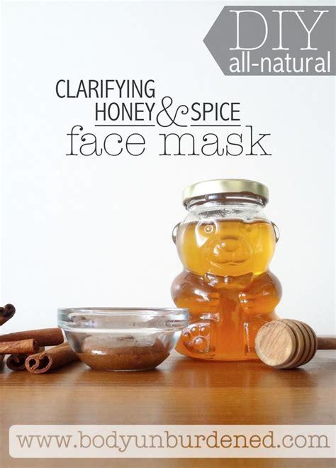 diy mask honey diy clarifying honey spice mask skincare and honey