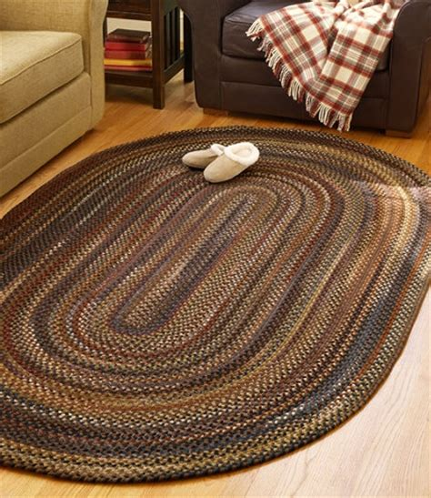 llbean home rugs ll bean braided rug for dining room for the home