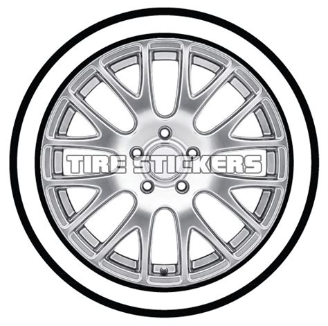 Black And White Wall Stickers white wall for any tire tire stickers