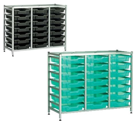under bench bins gratnells under bench and tray sets richardsons shelving