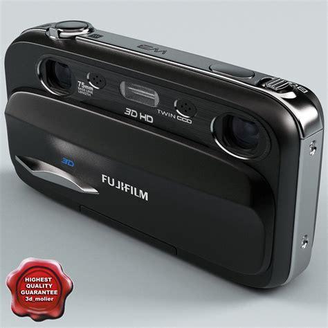 fuji 3d 3d model of fujifilm finepix real w3