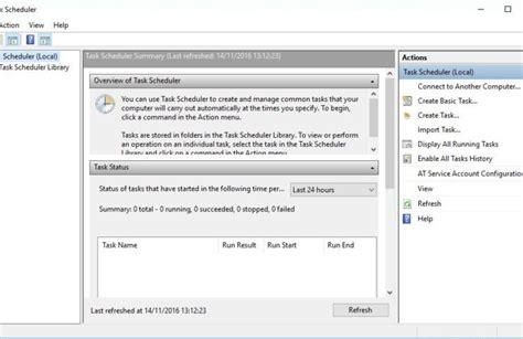 how to schedule a task in windows fix windows scheduled tasks not running