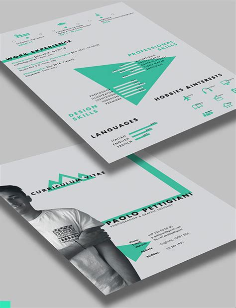 beautiful resume templates 50 beautiful free resume cv templates in ai indesign